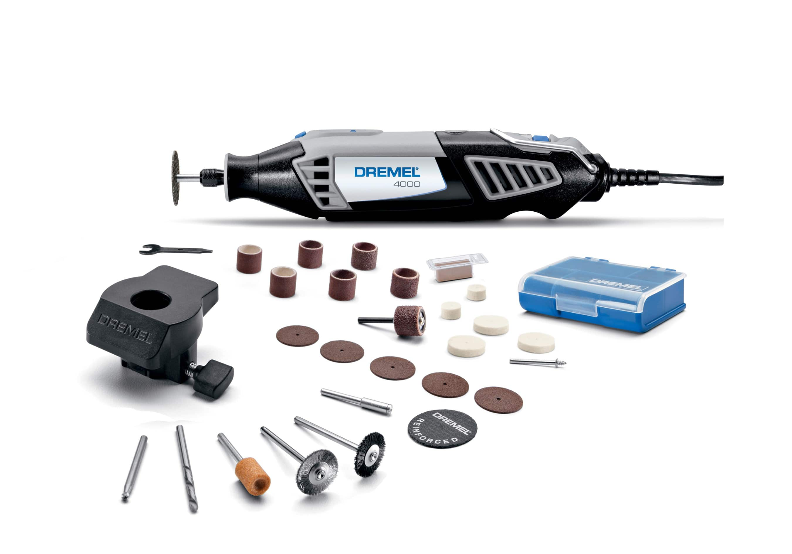 Dremel 4000-1/26 1.6 Amp Corded Variable Speed Rotary Tool, 1 Attachment And 26 Accessories $48.88
