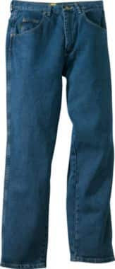 Men's Jeans, Cabelas Roughneck, relaxed and traditional fit, thick denim (similar to Carhartt jeans) $16