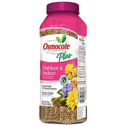 Osmocote Plus Outdoor and Indoor Smart-Release Plant Food, 2-Pound (Plant Fertilizer) $2 at Amazon