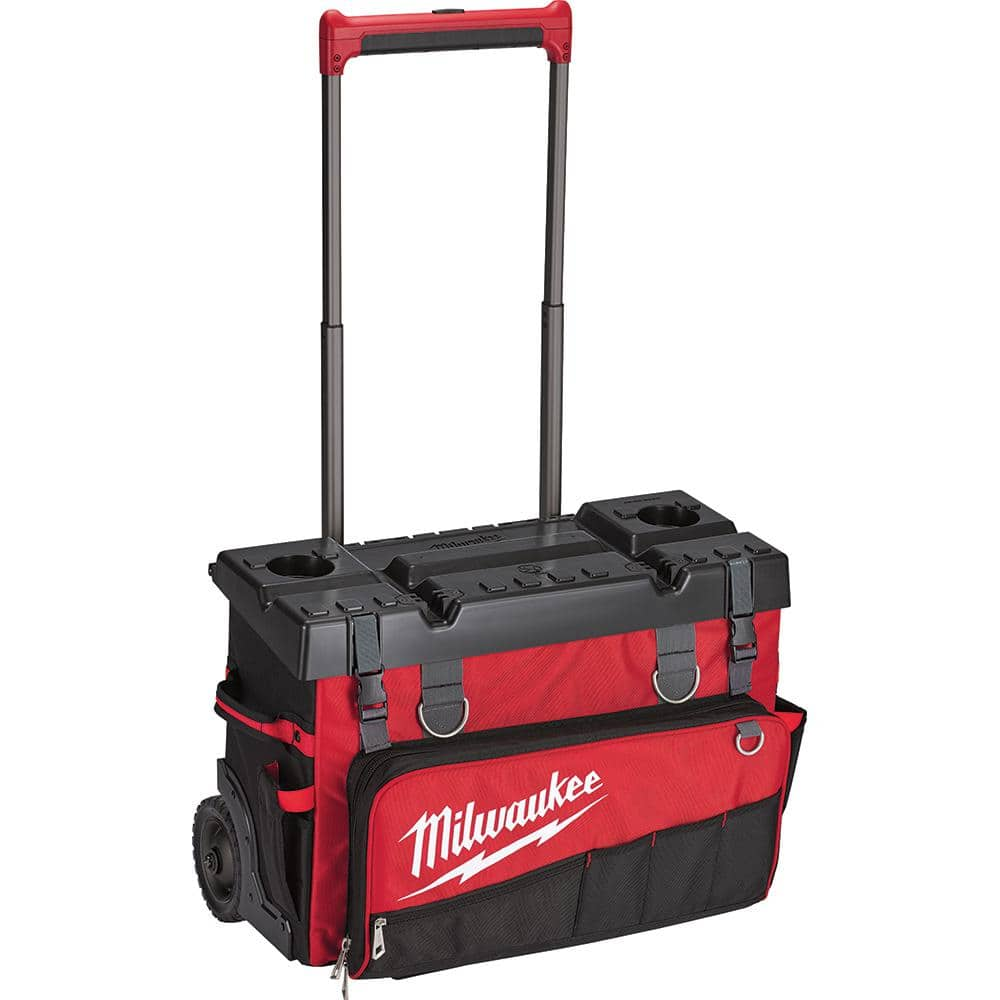 Milwaukee 24 in. Hardtop Rolling Bag 75% OFF $48.03 YMMV