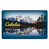 eBay Deal: ebay $50 Cabela's Gift Card For $40!!