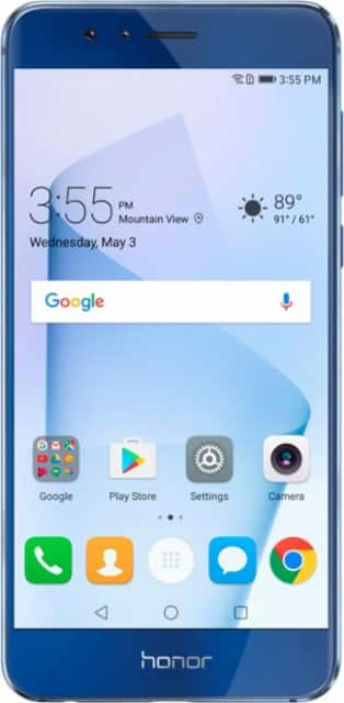 64GB Huawei Honor 8 Unlocked Smartphone + $40 Cricket Card +