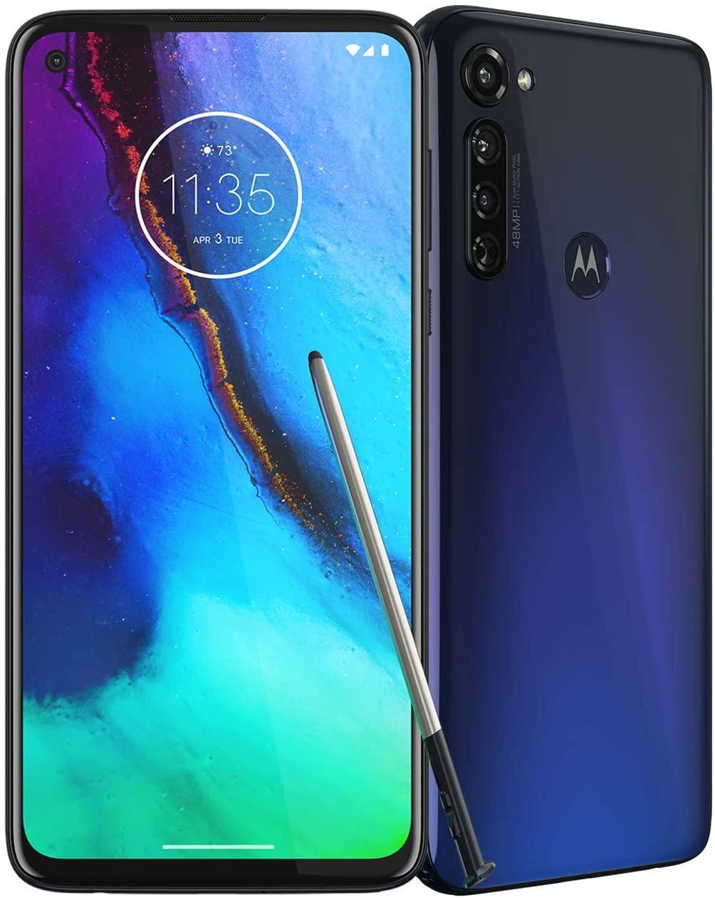 Amazon.com: Moto G Stylus | Unlocked | Made for US by Motorola | 4/128GB | 48MP Camera | 2020 | Indigo