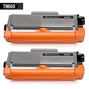 Amazon: 2 Pack Brother Laser Printer Toner TN660 TN-660 TN630 TN-630 Compatible Cartridge Replacement (2 Black cartridges) $11.99
