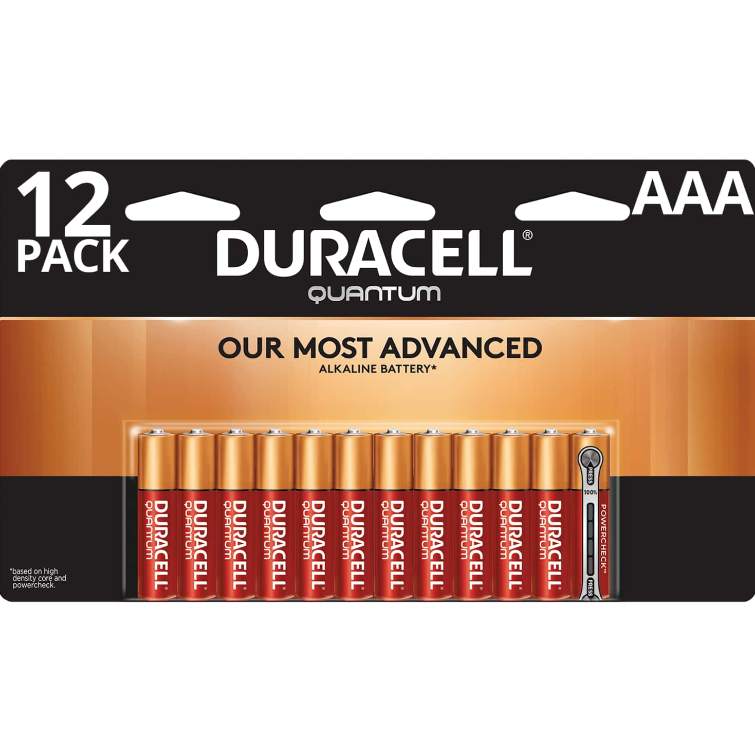 YMMV - Walmart Duracell 12 pack AAA Batteries with