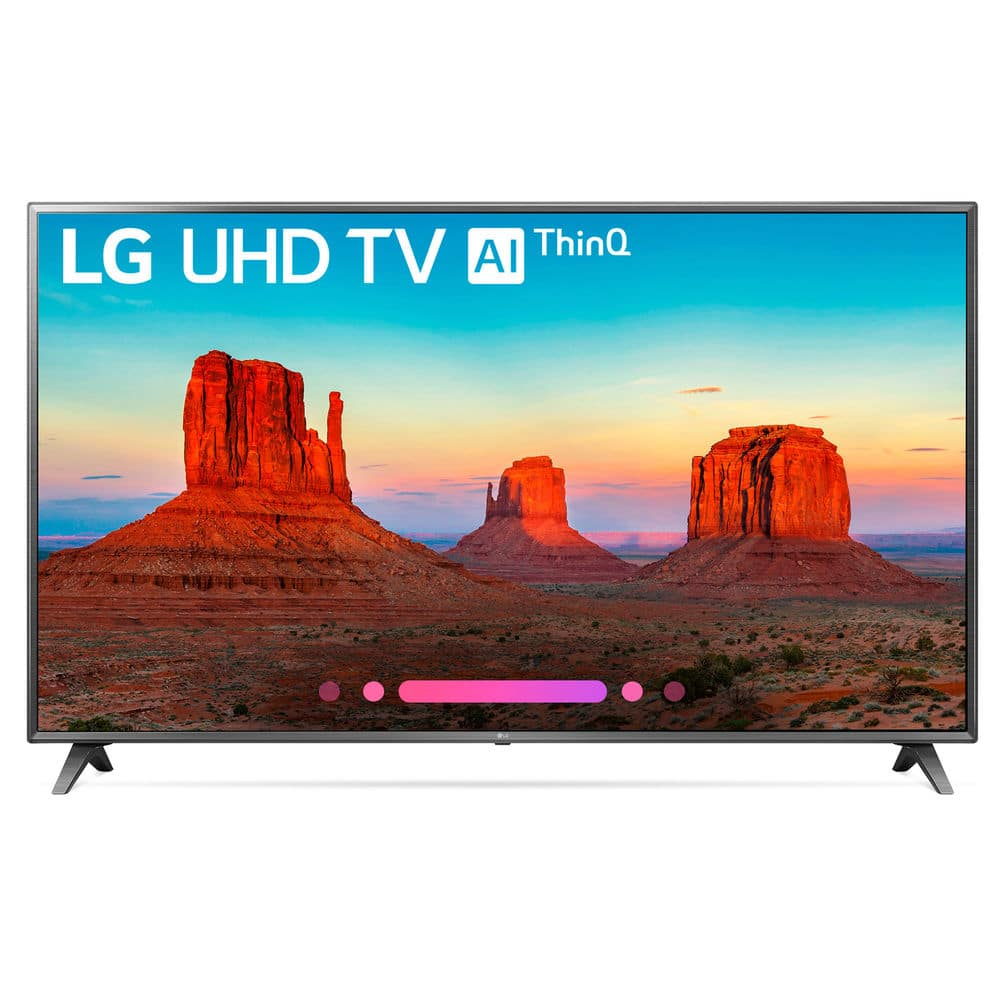 "LG 75UK6570PUB 75"" Class 4K HDR Smart LED AI UHD TV w/ThinQ (2018 Model)"