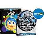Best Buy 10/11-10/17 Preorder Inside out or Jurassic World Blu ray $19.99  each and receive $5 in my best buy points