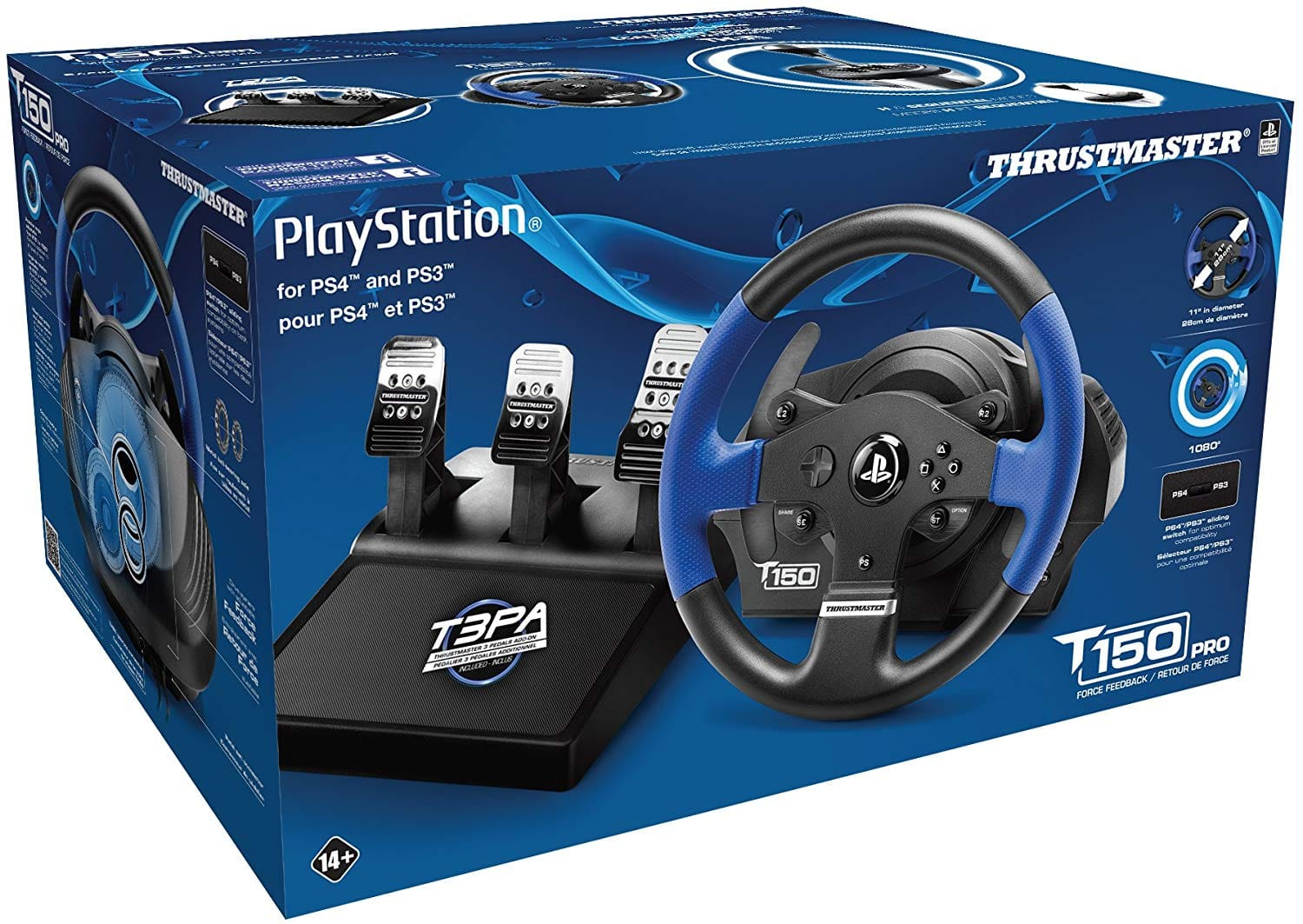 Thrustmaster T150 PRO Racing Wheel w/ Pedals (PS4 / PS3 / PC) EXPIRED