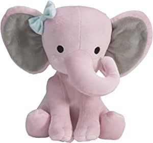 Bedtime Originals Twinkle Toes Pink Elephant Plush, Hazel $4.3