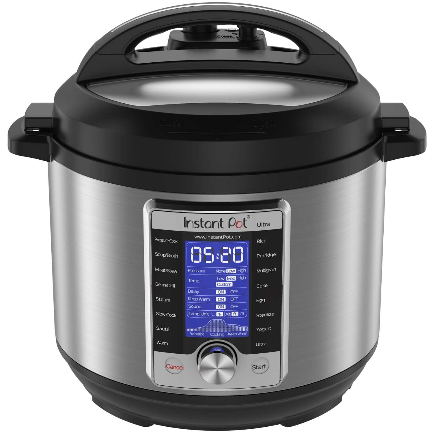 Instant Pot Ultra 6 Qt 10-in-1 pressure cooker - $87.99 + FS at Amazon and/or at Kohl (with 15% free coupon) + $10 Kohl card (use later)