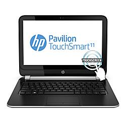 "HP Pavilion 11-e115nr TouchSmart Laptop Computer With 11.6"" Touch-Screen Display & AMD A6 Elite Quad-Core Accelerated Processor $279.99 @ OD B&M"