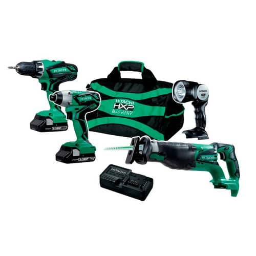 Hitachi 18V Power Tools Clearance (75% off) @ from $45-$74 Lowes YMMV