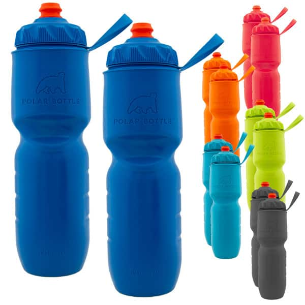 2-Pack Polar Bottle 24-oz Insulated Bottles w/ ZipStream Cap $9 + Free S&H