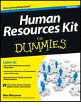 Free eBook: Human Resources Kit For Dummies, 3rd Edition