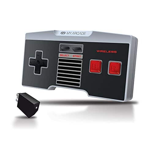 $13.35 My Arcade GamePad Classic - Wireless Controller for the NES Classic Edition Gaming System