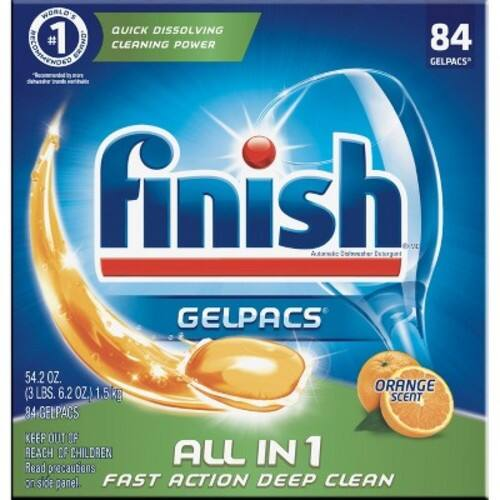 Finish All in 1 Gelpacs 252 for 29.87 (11.9c each)