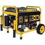 WEN 4750-Watt Generator with Electric Start and Wheel Kit, CARB Compliant ($359.00)