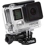 GoPro Hero 4 Black Edition 12MP 4K Wi-Fi and Bluetooth $399 + Free Shipping