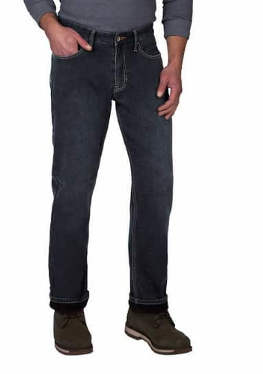 Costco Members: Men's Weatherproof Vintage Fleece Lined Pant (Blue or Brown) $12.99