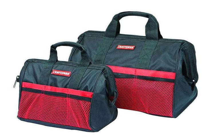 2-Pack Craftsman Ballistic Nylon Tool Bags $9.99 w/store pickup