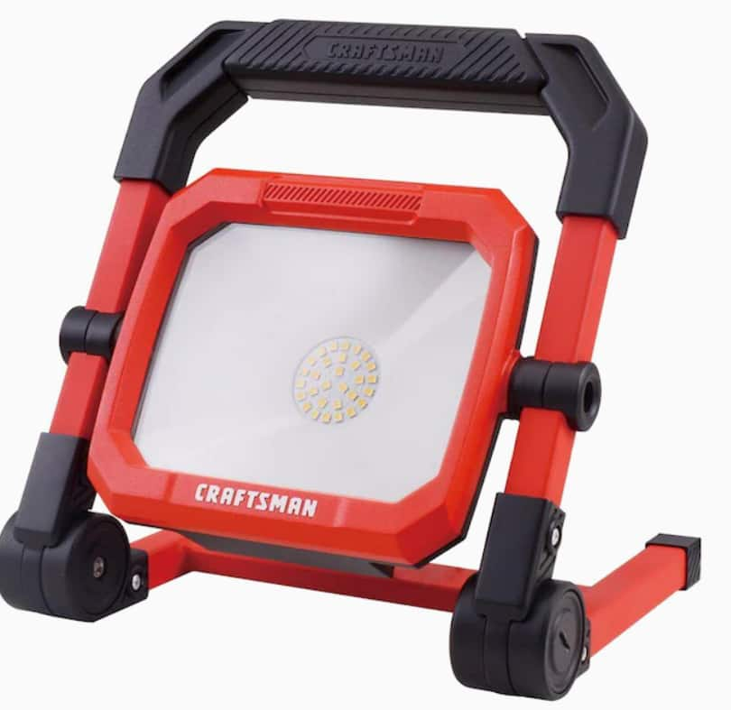 Craftsman 2000-Lumen Portable Corded LED Work Light $19.98 w/ store pickup ~ Lowes