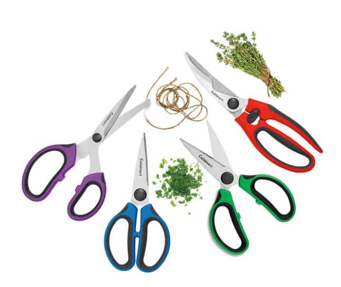 4-Piece Cuisinart Stainless Steel Shears Set: $13 + Free shipping ~ Costco