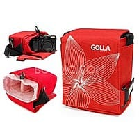 BuyDig Deal: Golla SKY G864 Camera Bag (Red) for Ultra-Zoom, Mirrorless and Compact SLR Cameras $4.99 ~ Buy Dig