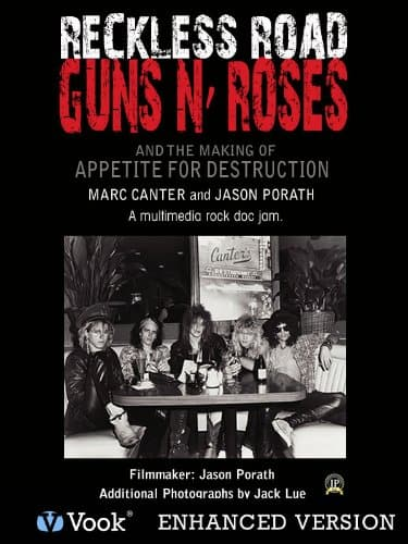 Reckless Road Guns 'n Roses and the Making of Appetite for Destruction (Kindle Edition with Audio/Video) $0.99 ~ Amazon