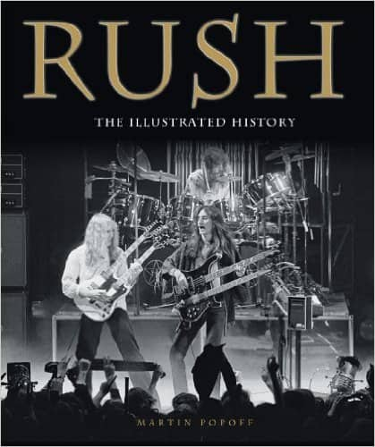 Rush/Queen/Led Zeppelin: The Illustrated History (Kindle Edition) $2.99 each ~ Amazon