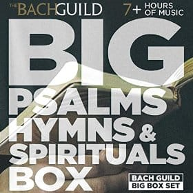 Big Psalms, Hymns and Spirituals Box $0.99 (MP3 Album Download)~ Amazon