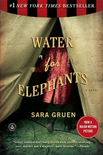 Water for Elephants: A Novel [Kindle Edition] $0.63 ~ Amazon
