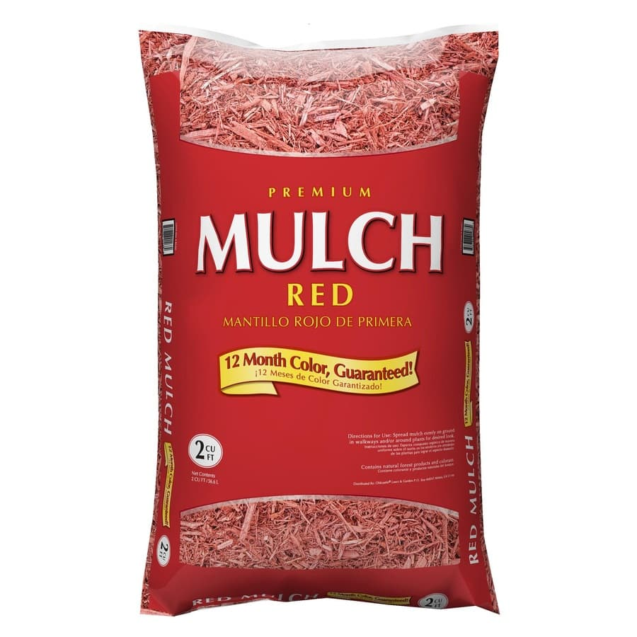 Lowes Mulch (Brown/Black/Red) $2 each (YMMV) w/store pick up ~ Lowes
