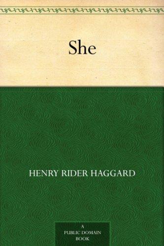 H.R. Haggard: She [Kindle Edition w/Audible Audio) $0.49 ~ Amazon