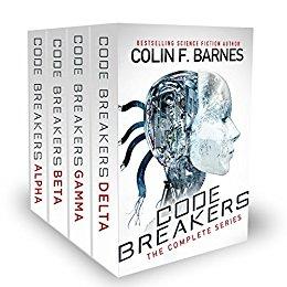 Colin Barnes: Code Breakers Complete Series: Books 1-4 [Kindle Edition] $0.99 ~ Amazon