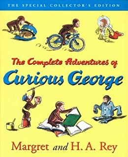 The Complete Adventures of Curious George [Kindle Edition] $3.99 ~ Amazon