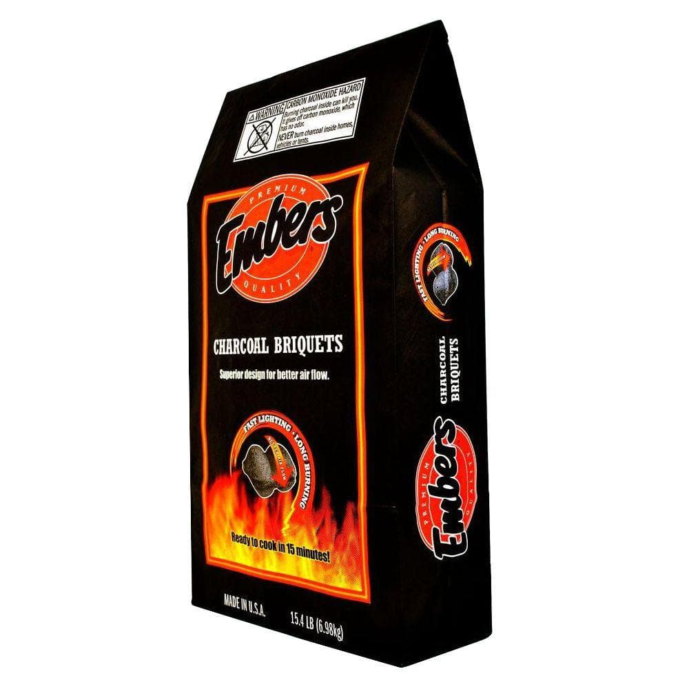 Embers Charcoal Briquettes 15.4 lb. Bag $2.98 [Very YMMV] w/store pick up ~ Home Depot