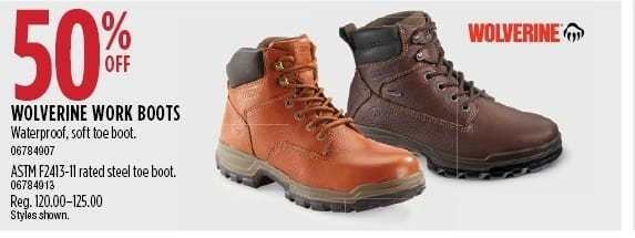 ed05e50d149052 Sears Black Friday  Wolverine Work Boots (Select Styles) - 50% Off ...
