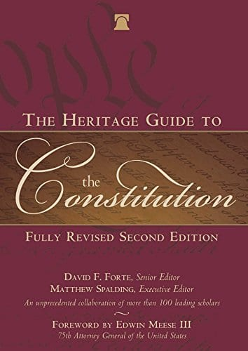 The Heritage Guide to the Constitution [Kindle Edition] $0.99 ~ Amazon