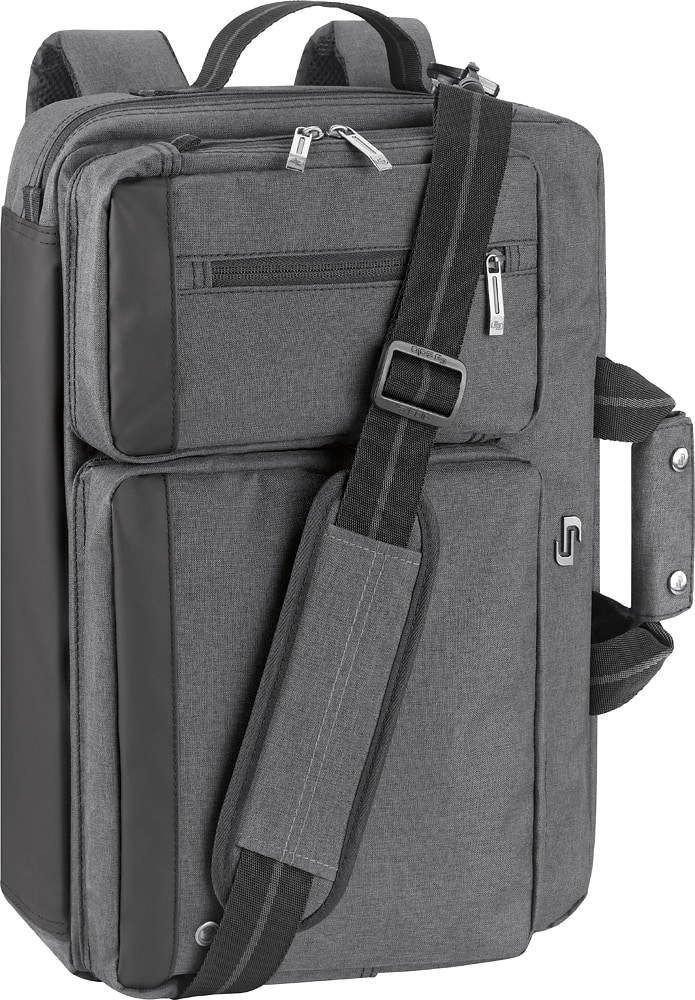 Solo:Urban Convertible Laptop Briefcase Backpack ~ $19.99 Best Buy/Amazon