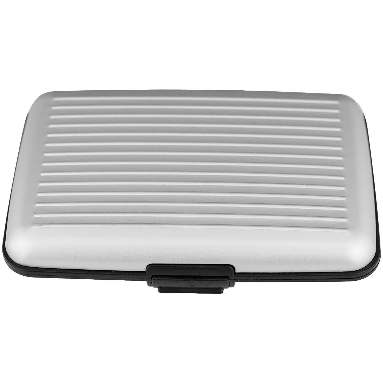 Aluminum RFID Blocking Wallet (Silver or Black): $1.99 (FSTS) ~ Home Depot