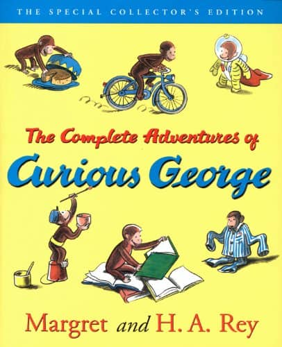 The Complete Adventures of Curious George [Kindle Edition] $1.99 ~ Amazon