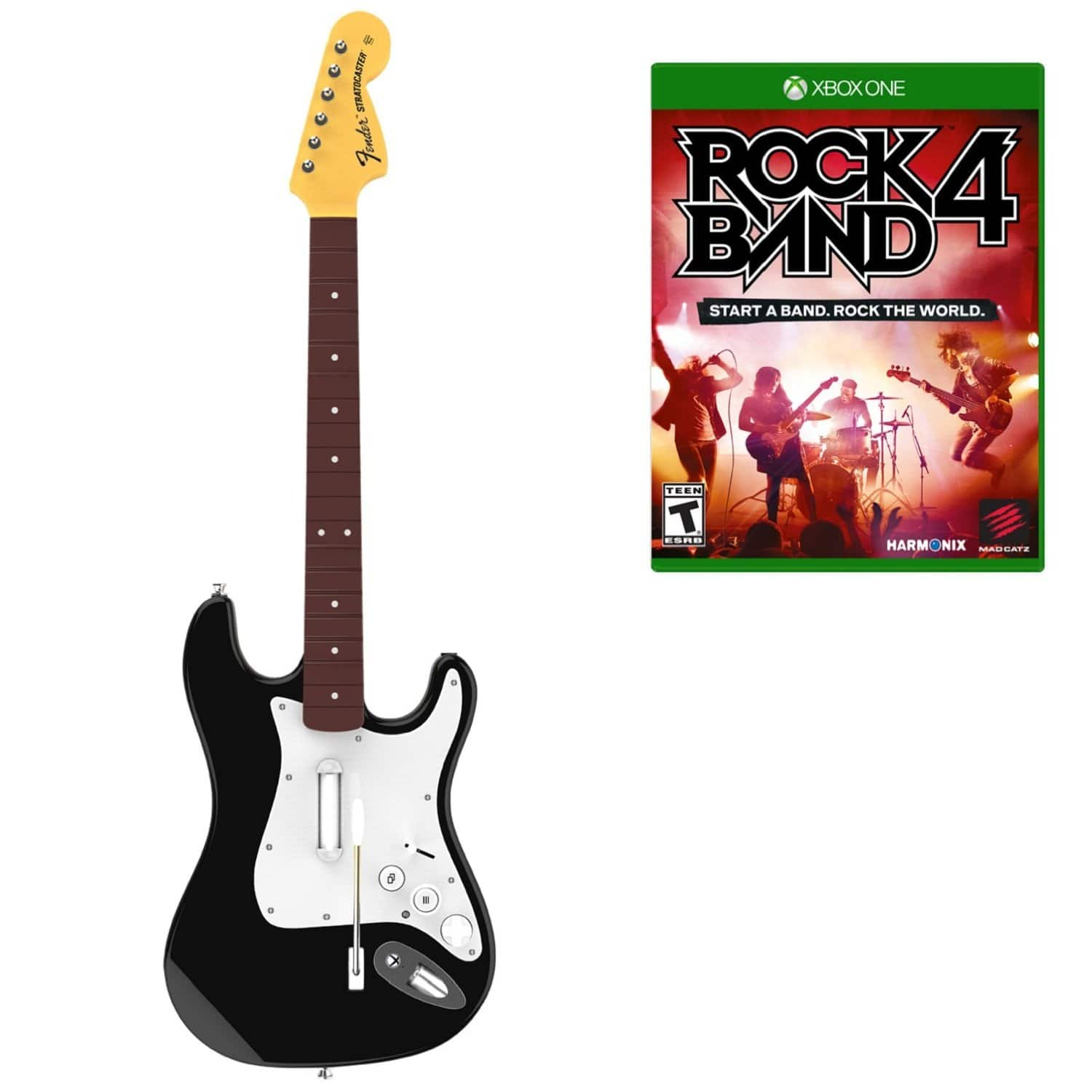 Rock Band 4 with Guitar PS4/Xbox One $79.99 from Amazon