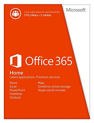Microsoft Office 365 5-PC License for $71.09 Shipped from Newegg.com