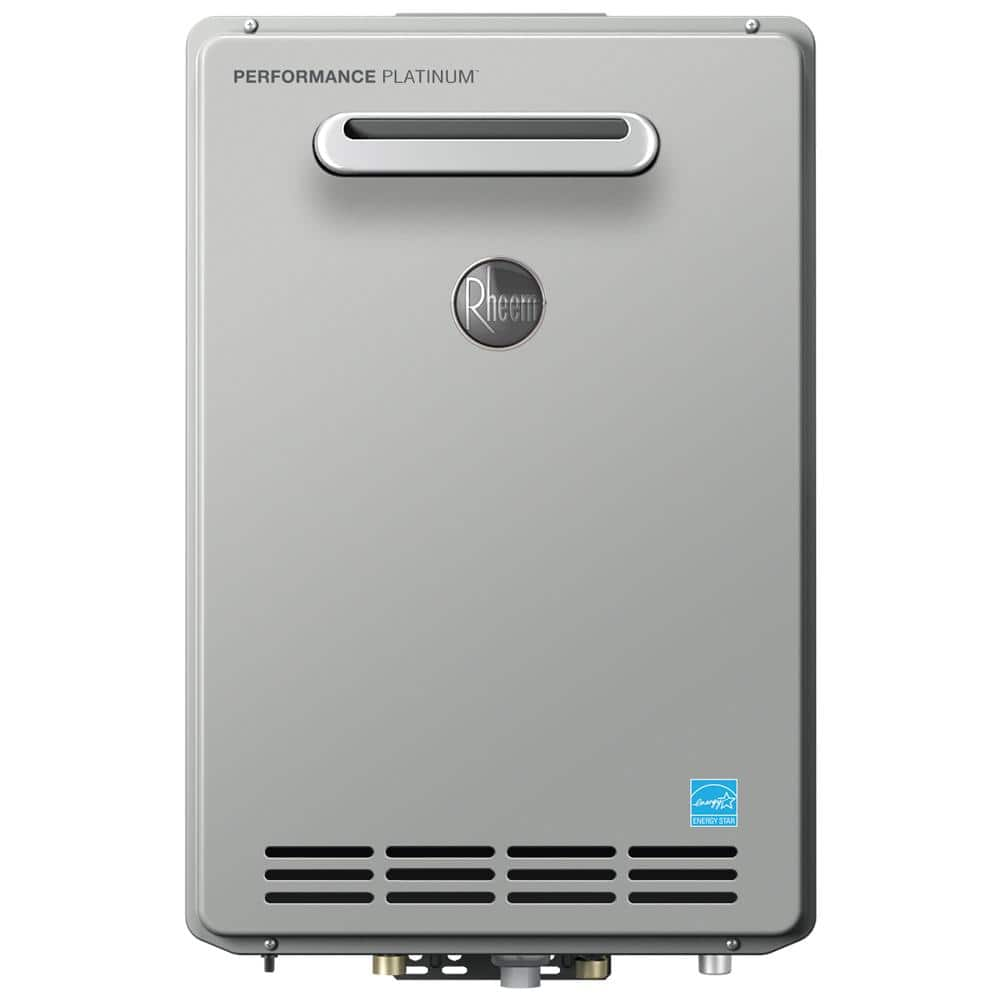 Rheem Performance Platinum 9.5 GPM Natural Gas High Efficiency Outdoor Tankless Water Heater $698 + Free Shipping