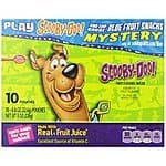 Betty Crocker Scooby-Doo Fruit Shapes - 5 Pack of 10 .8 Ounce Pouches- $7.50 AC & S&S ($6.50 AC & 5 S&S) - Amazon Prime Exclusive