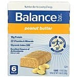 Balance Bar - 6 Count Peanut Butter Flavor - $4.09 AC S&S ($3.56 AC & 5 S&S Orders)