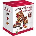 goodnessknows Cranberry Almond Dark Chocolate Snack Squares - 18 Count Package - $16.16 AC - Free Prime or SSS