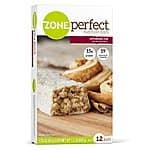 ZonePerfect Nutrition Bar - Cinnamon Roll or Chocolate Almond Raisin - 12 Count - $7.88 AC & S&S ($6.73 AC & 5 S&S Orders) - AMAZON PRIME MEMBERS