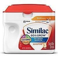 Similac Go and Grow Sensitive Toddler Drink - Stage 3 Powder - 10.9 Pounds - $  16.81 AC - Amazon.com