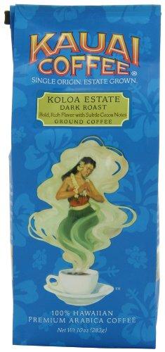 Kauai Coffee Dark Roast Ground - 10 Ounce Package - $4.37 AC & S&S ($3.79 AC & 5 S&S Orders) - Amazon.com